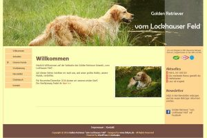 "Golden Retriever ""vom Lockhauser Feld"""