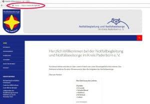 Notfallbegleitung und Notfallseelsorge im Kreis Paderborn e. V.